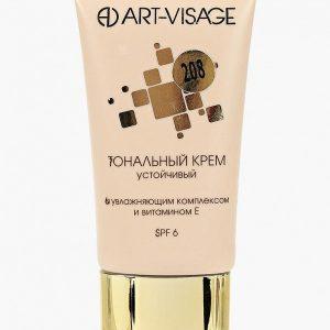 Тональный крем Art-Visage устойчивый с увлажняющим комплексом и витамином Е 208 теплый бежевый