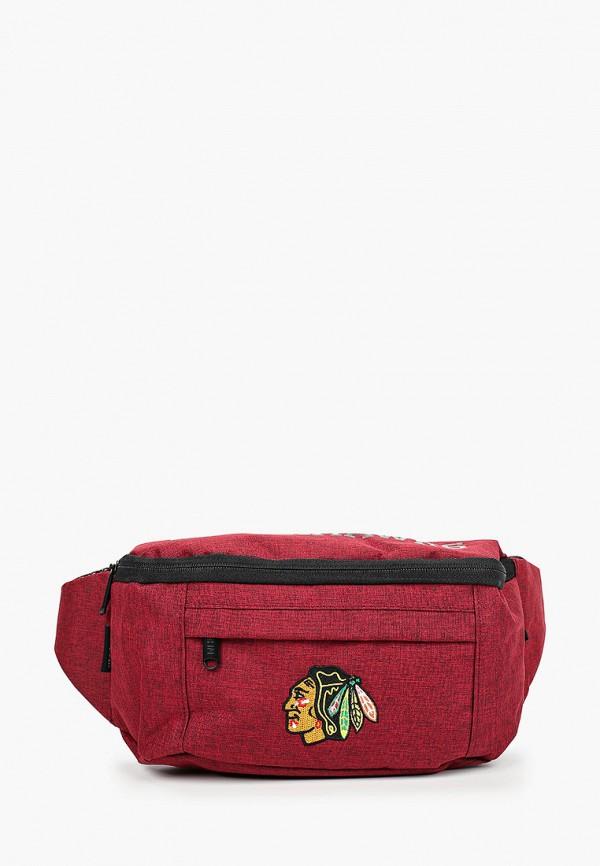 Сумка поясная Atributika & Club™ NHL Chicago Blackhawks