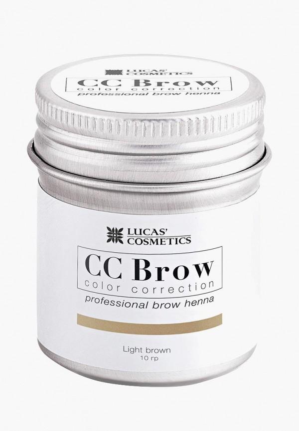 Тушь для бровей CC Brow в баночке (светло-коричневый)