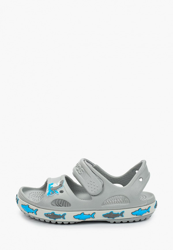 Сандалии Crocs Shark Band