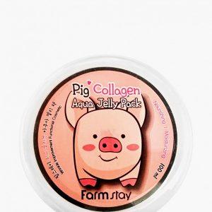 Маска для лица Farm Stay увлажняющая со свиным коллагеном