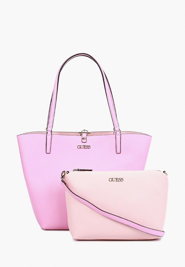 Комплект Guess сумка и косметичка