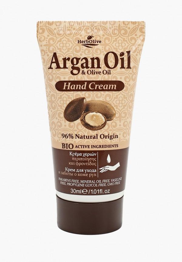 Крем для рук HerbOlive с маслом арганы 30 мл.