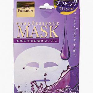 Набор масок для лица Japan Gals c тремя видами плаценты