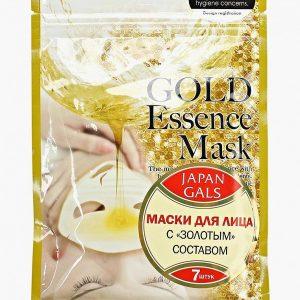Набор масок для лица Japan Gals с «золотым» составом Essence Mask 7 шт