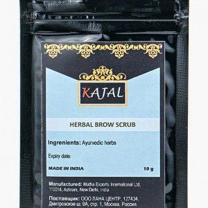 Скраб для бровей Kajal травяной