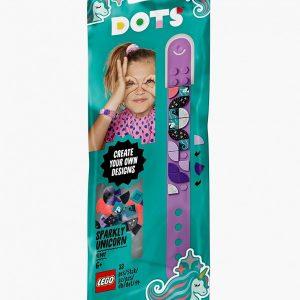 Набор для творчества LEGO DOTS 41902 Браслет «Сверкающий единорог»