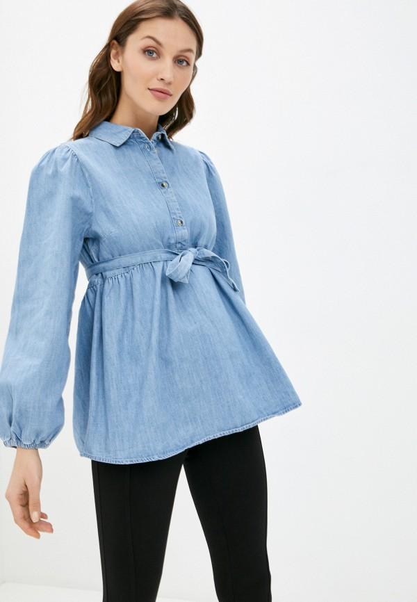Рубашка джинсовая Mamalicious