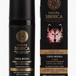 Крем для лица Natura Siberica тонизирующий MEN Сила волка