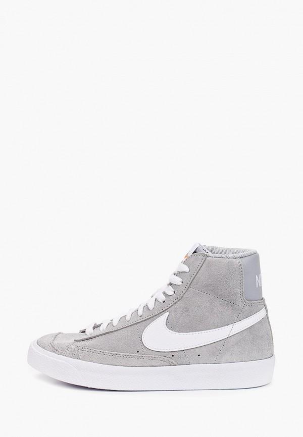 Кеды Nike NIKE BLAZER MID '77 SUEDE (GS)