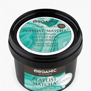 "Скраб для лица Organic Kitchen Playlist ""Matcha"" от DJ @f__veronika"