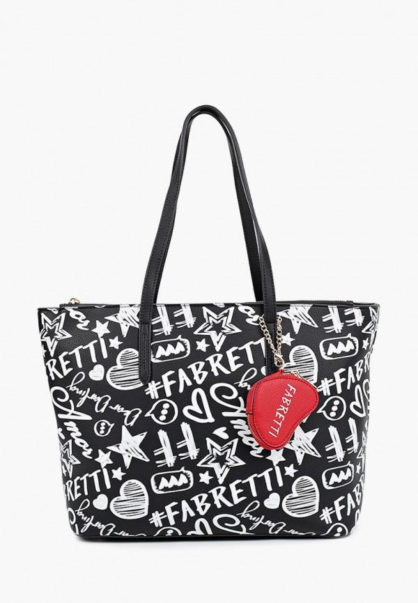 Комплект Fabretti сумка и брелок-кошелек