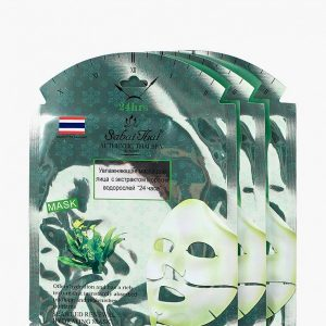 """Набор масок для лица Sabai Thai Authentic SPA """"24 часа"""" с экстрактом морских водорослей 3 шт"""