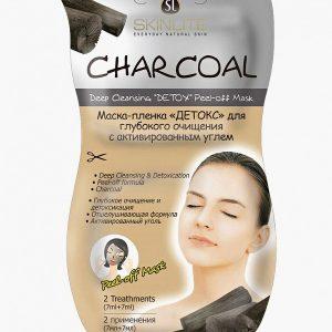 Маска для лица Skinlite ДЕТОКС для глубокого очищения с активированным углем