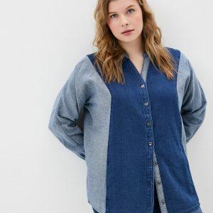 Рубашка джинсовая Ulla Popken