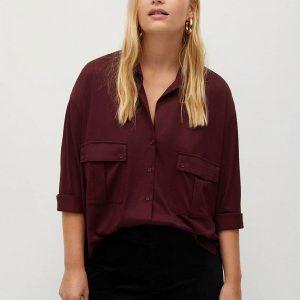 Рубашка Violeta by Mango - COSTA