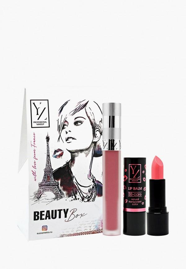 """Набор для макияжа губ Yllozure Подарочный (бальзам для губ """"ВВ-уход"""""""